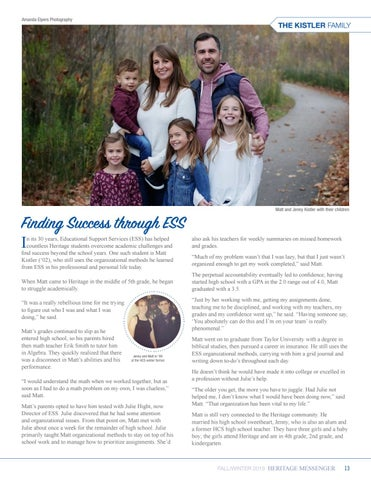 Page 13 of Finding Success through ESS