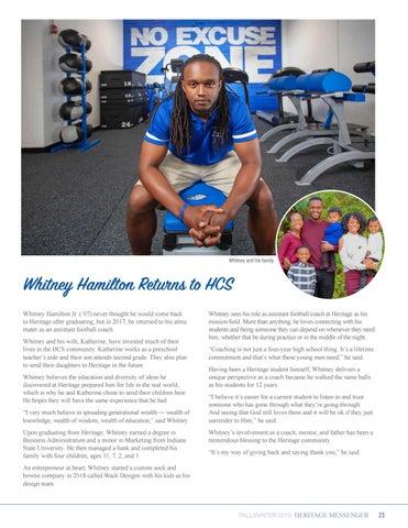 Page 23 of Whitney Hamilton Returns to HCS