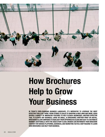 Page 20 of How Brochures Help to Grow Your Business