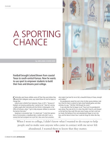 Page 6 of A SPORTING CHANCE