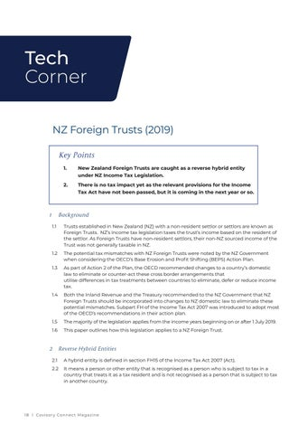 Page 18 of Covisory Tech Corner - NZ Foreign Trust changes