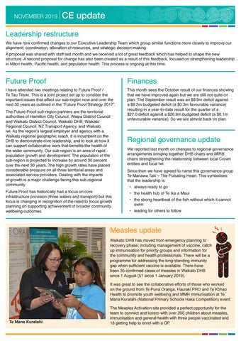 Page 3 of Regional governance update