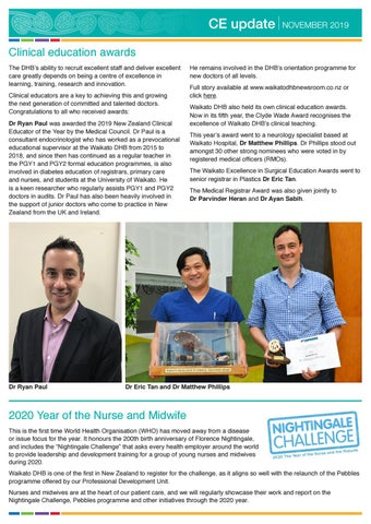 Page 4 of Clinical education awards