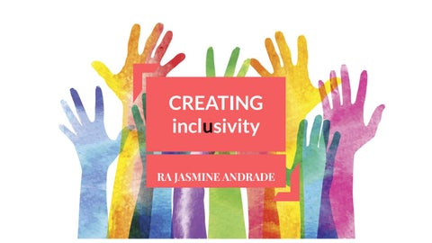 Page 1 of CREATING inclusivity