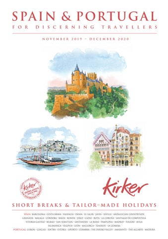 Spain Portugal For Discerning Travellers 2020 Kirker