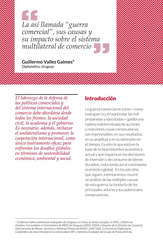 Revista Pensamiento Iberoamericano Nº 8 Guillermo Valles