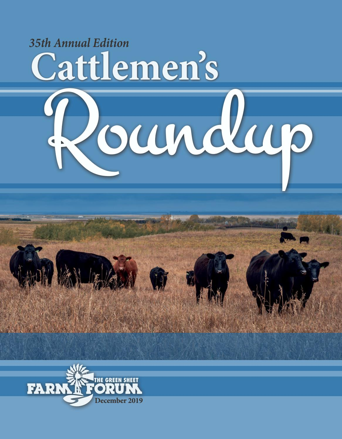 2019 Farm Forum Cattlemen S Roundup By Aberdeen News Farm Forum Issuu In 1950, she joined the navy where she met her husband bernard. 2019 farm forum cattlemen s roundup by