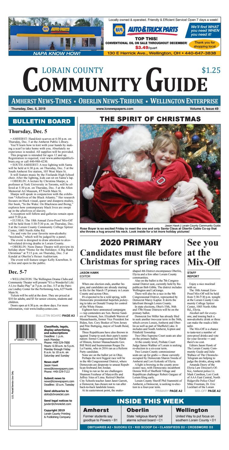 Christmas At The Races Wellington 2020 Lorain County Community Guide   Dec. 5, 2019 by Lorain County