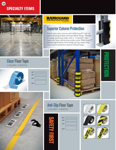 Page 10 of Specialty Floor Tape and New Mighty Liner Floor Tape Applicator