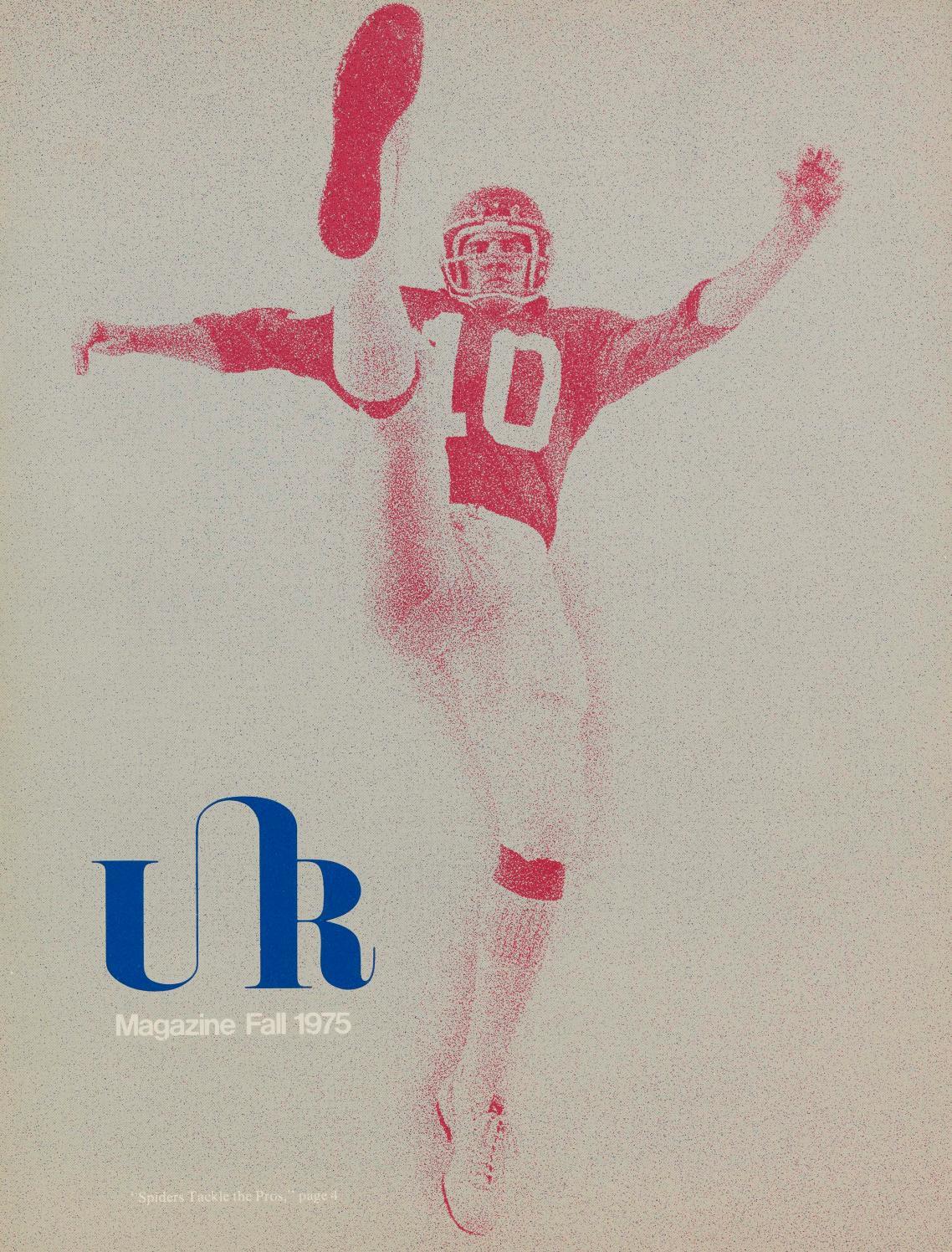 Wonderbaar University of Richmond Magazine Fall 1975 by UR Scholarship TQ-19