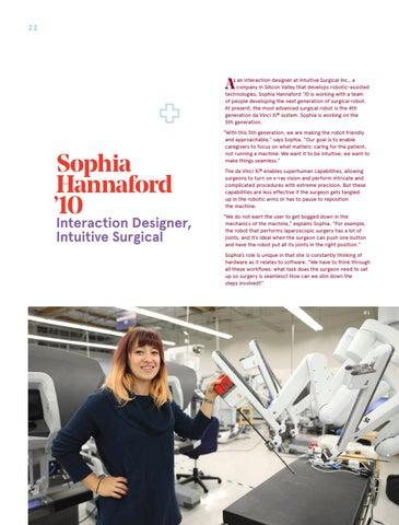 Page 22 of Sophia Hannaford '10 Interaction Designer