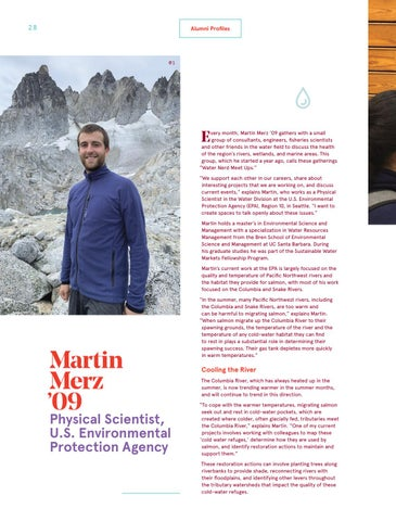 Page 28 of Martin Merz '09 Physical Scientist, U.S. Environmental Protection Agency