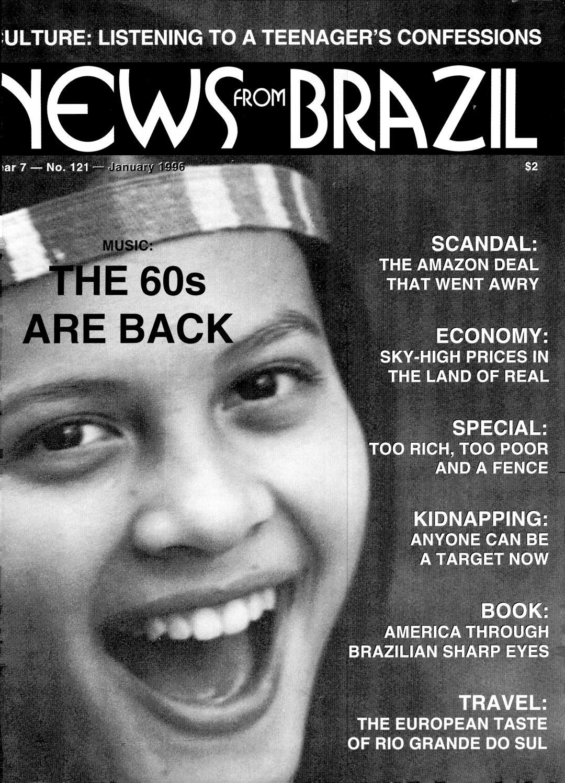 Brazzil Year 7 Number 121 January 1996 By Brazzil Magazine