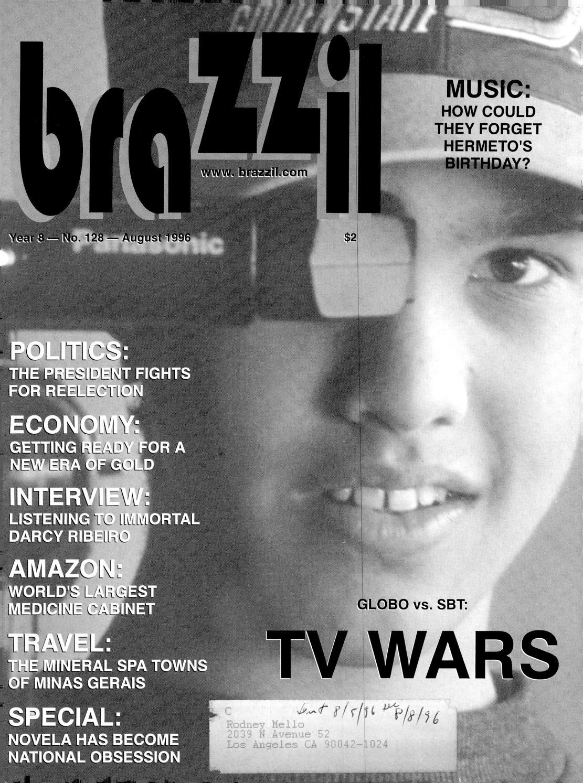 Abarra Miller Porno brazzil - year 8 - number 128 - august 1996brazzil