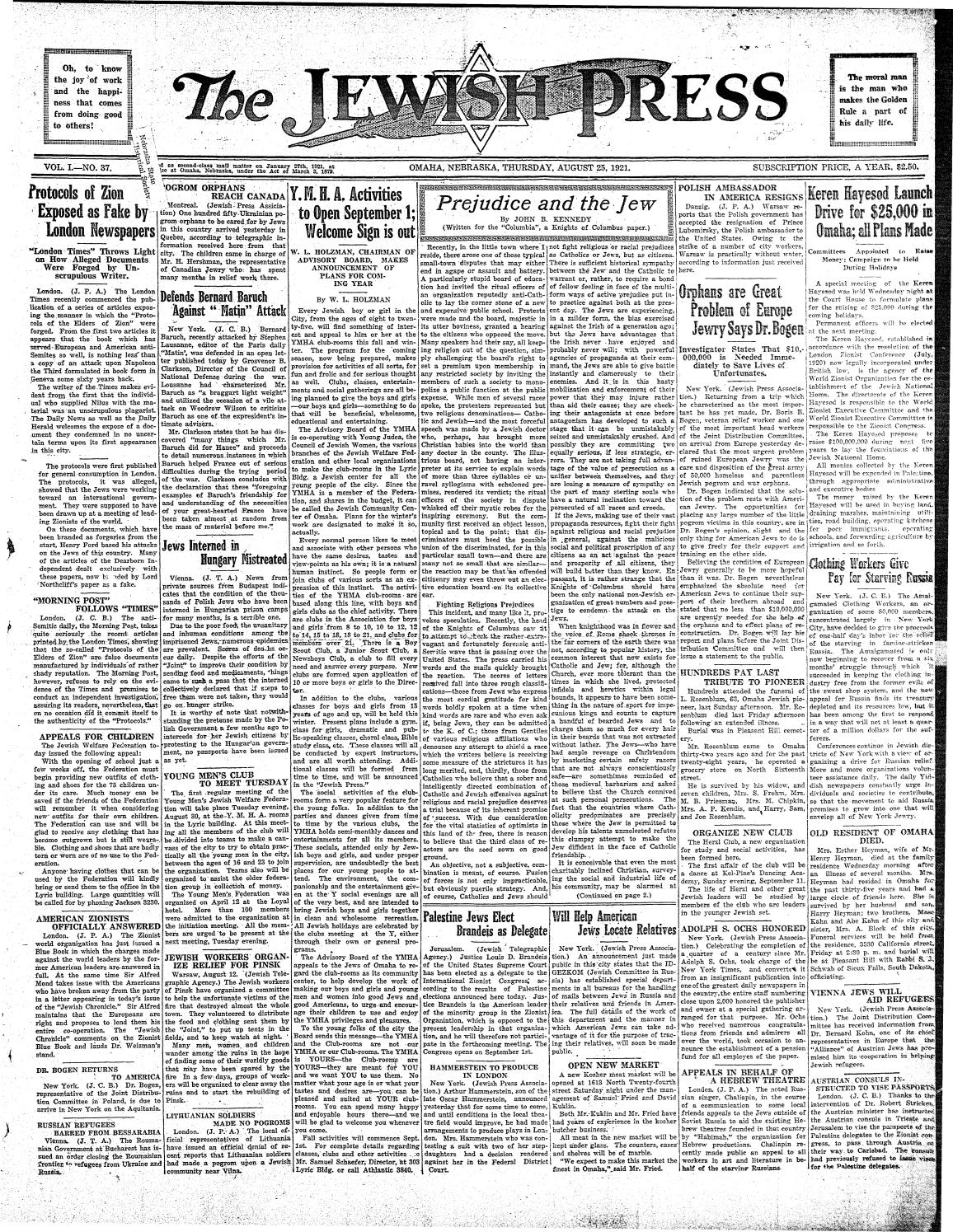 august 25 1921