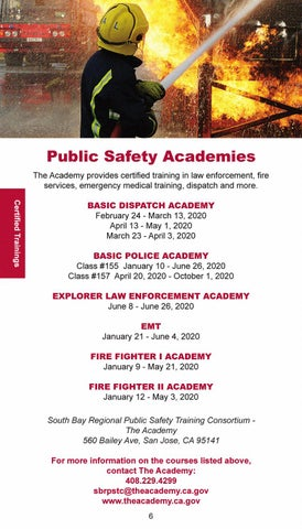 Page 8 of Public Safety Academies