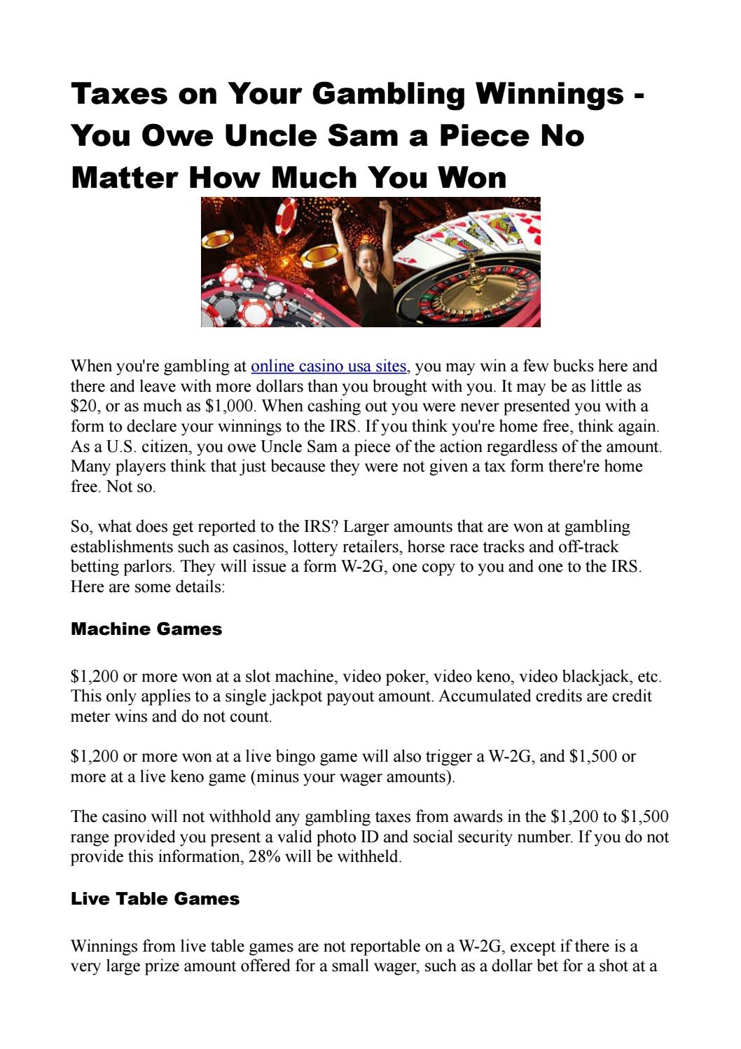 Sports betting winnings taxes on social security off track betting rochester ny