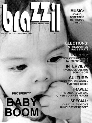 Brazzil Year 8 Number 132 December 1996 By Brazzil Magazine
