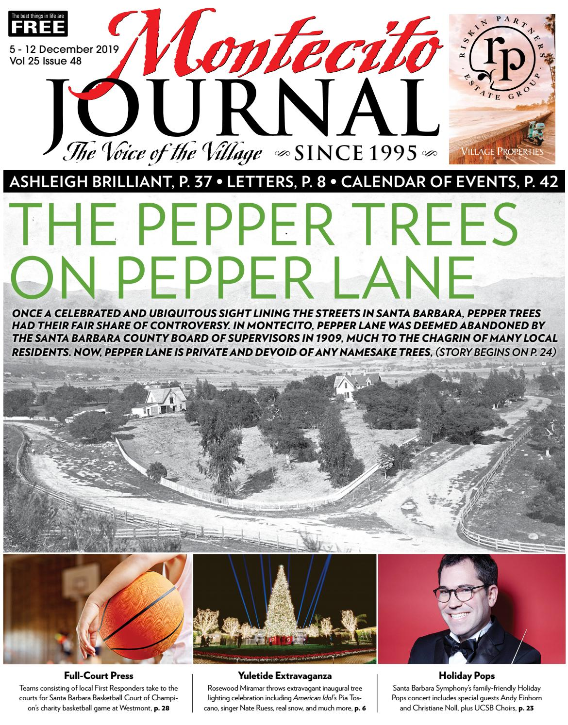 Christine Miranda Saint Paul Trois Chateaux the pepper trees on pepper lanemontecito journal - issuu