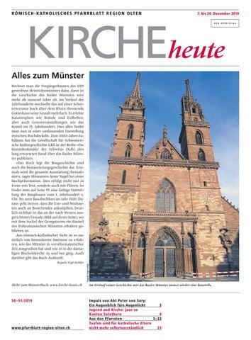 Römisch Katholisches Pfarrblatt Region Olten Ausgabe 50 51