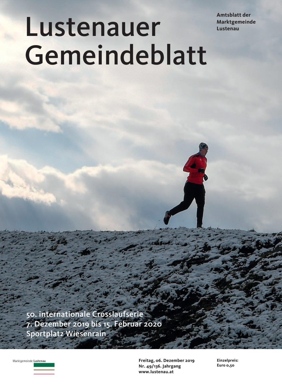 Gemeindeblatt 49 2019 by Marktgemeinde Lustenau issuu