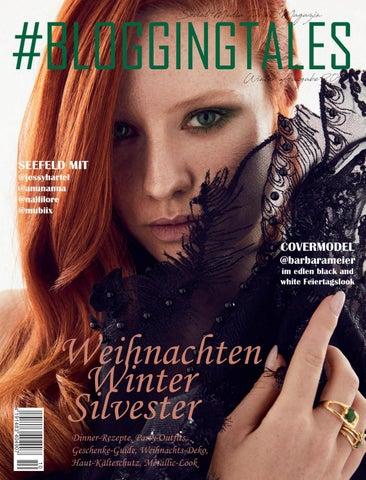 BLOGGINGTALES 0519 Winter mit Barbara Meier auf dem Cover