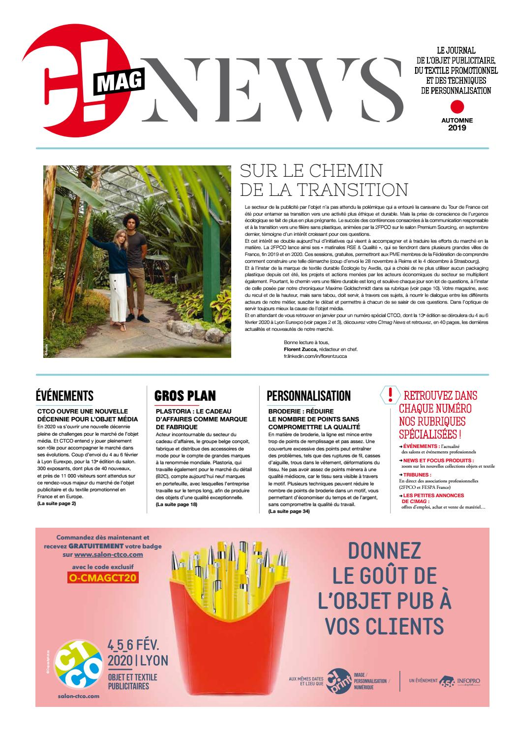 foto de C!mag News automne 2019 by 656 Editions - issuu