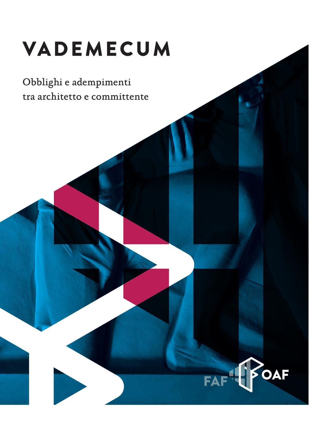 Facile Ristrutturare Opinioni Architetti vademecum: obblighi e adempimenti tra architetto e
