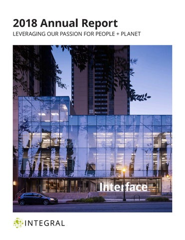 2018 Annual Report By Integral Group Issuu