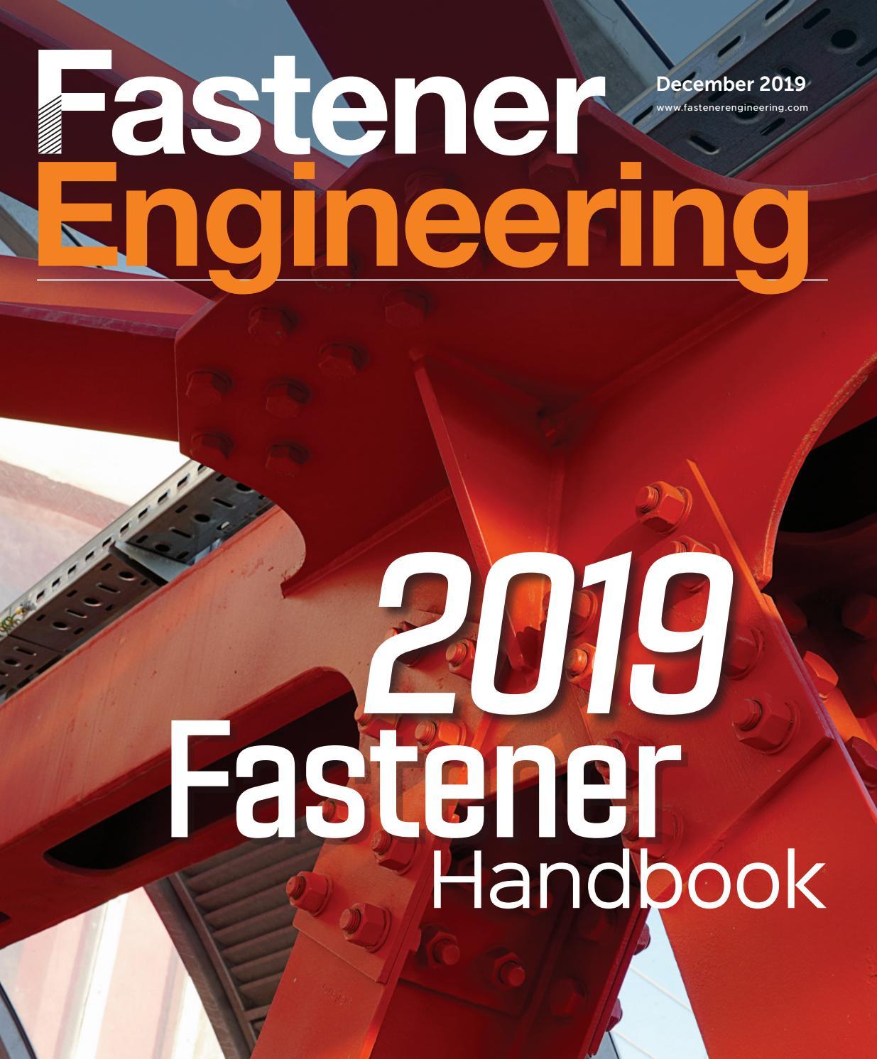 DESIGN WORLD - FASTENER ENGINEERING HANDBOOK 2019 by WTWH ...