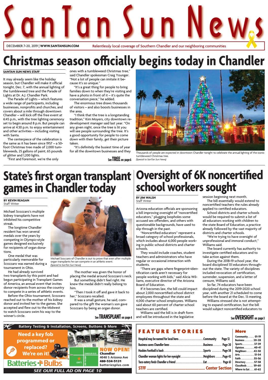 Santan Sun December 07 2019 By Times Media Group Issuu