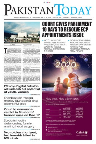 E Paper Pdf 6th December Isb By Pakistan Today Issuu