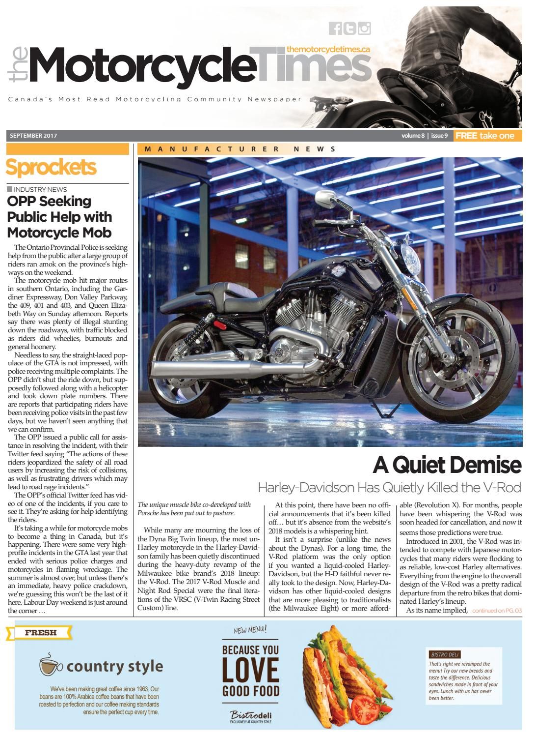 Polaris Designed For Living Srl the motorcycle times - september 2017 by the motorcycle