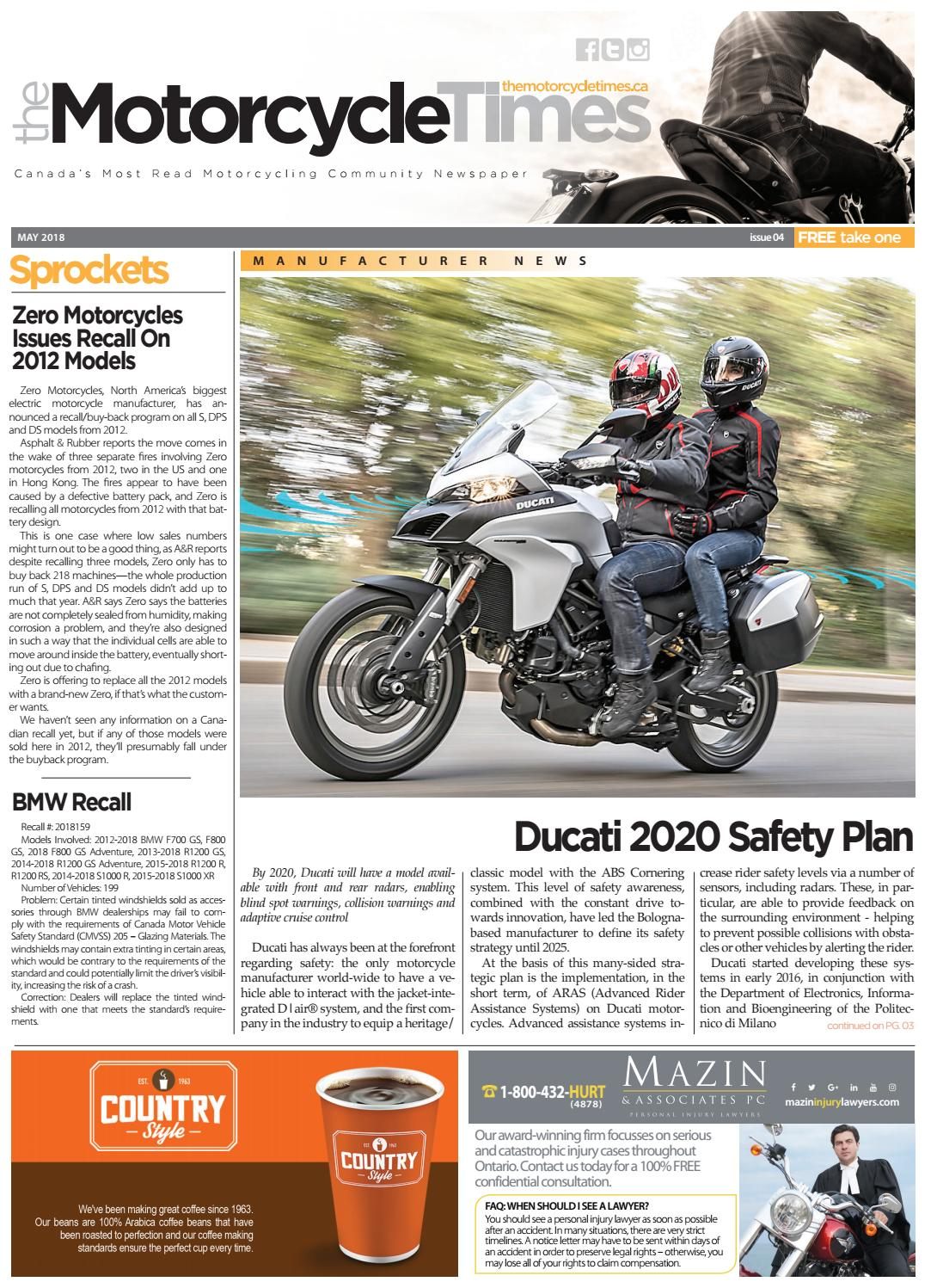 The Motorcycle Times May 2018 by The Motorcycle Times issuu