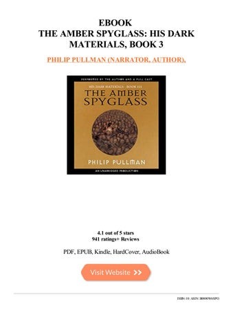 The Amber Spyglass, Deluxe 10th Anniversary Edition [His