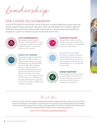 Page 8 of Impacting Leadership