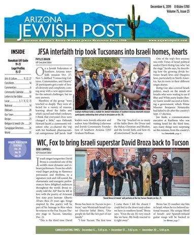 Arizona Jewish Post 12619 By Arizona Jewish Post Issuu