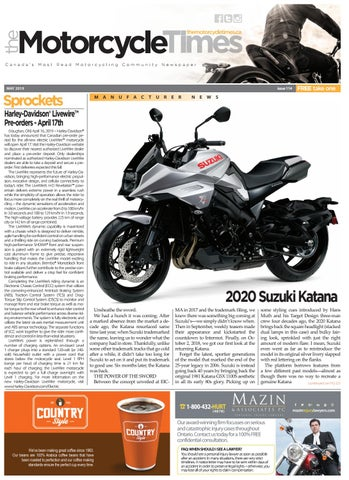 The Motorcycle Times May 2019 By The Motorcycle Times Issuu