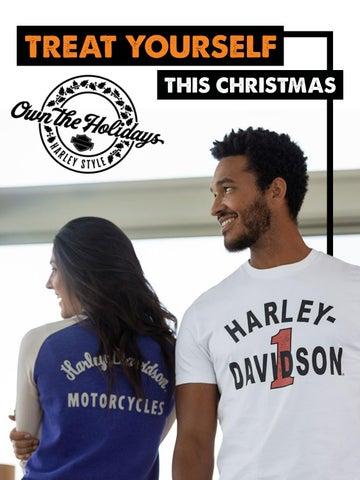 HARLEY DAVIDSON MENS LADIES HD MC MOTORCYCLE COMPANY BLACK LONG S SHIRT Small