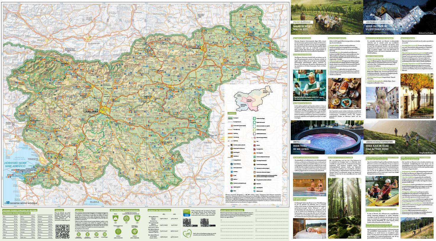 Toeristische Kaart Van Slovenie By Slovenian Tourist Board Issuu