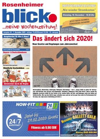Rosenheimer blick Ausgabe 49 | 2019 by Blickpunkt Verlag
