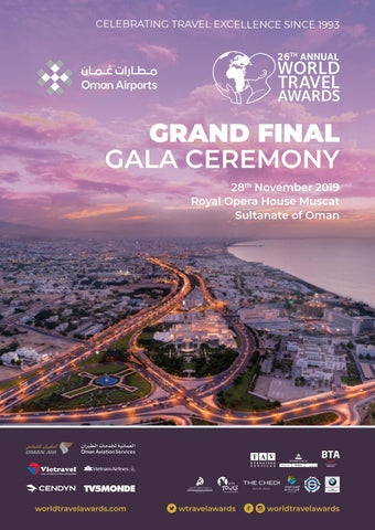 World Travel Awards Grand Final Gala Ceremony 2019 By World