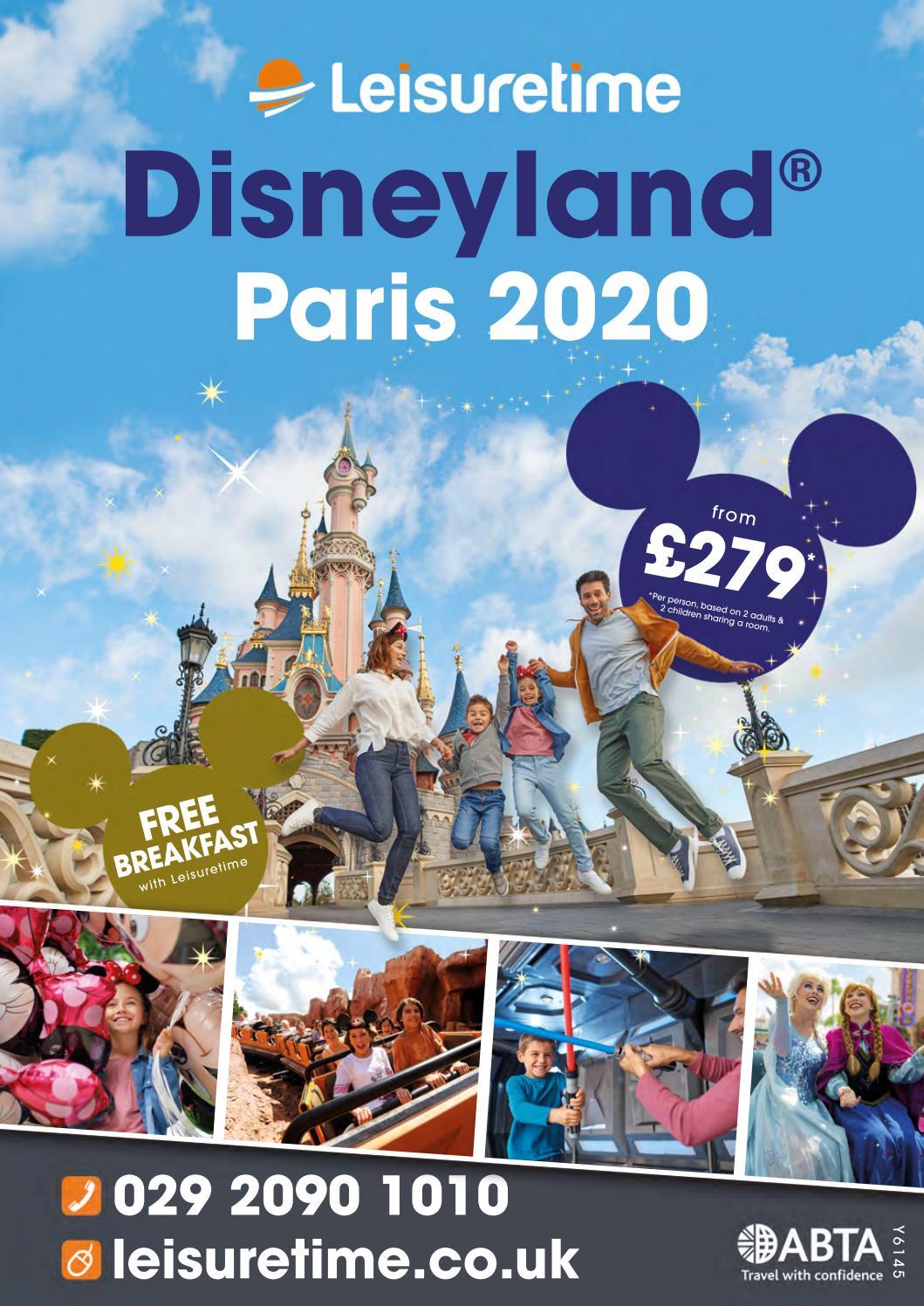 Leisuretime Disneyland Paris 2020 By Leisuretime Issuu