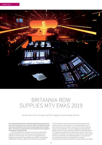 Page 10 of BRITANNIA ROW SUPPLIES MTV EMAS 2019