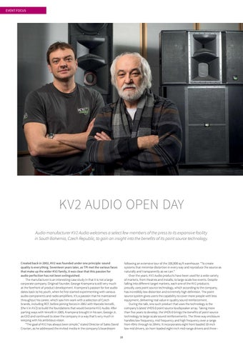 Page 18 of KV2 AUDIO OPEN DAY