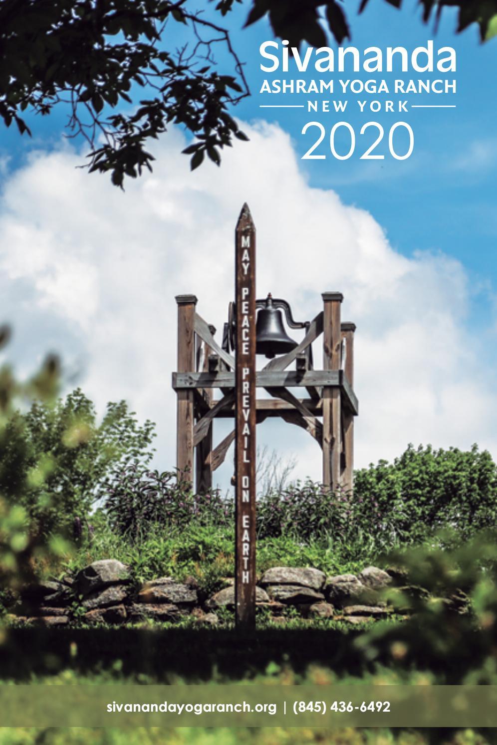 Sivananda Yoga Ranch Catalog 2020 By Sivananda Yoga Ranch Catskills Issuu