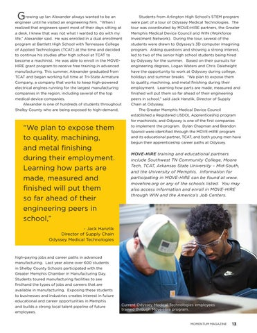 Page 15 of Move-Hire program offers free training, connects locals to lucrative medical device jobs