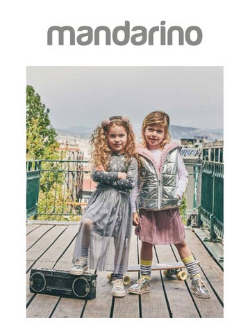 Mandarino. Kατάλογος «Φθινόπωρο - Χειμώνας» με παιδικά ρούχα