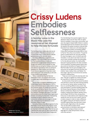 Page 45 of Crissy Ludens Embodies Selflessness