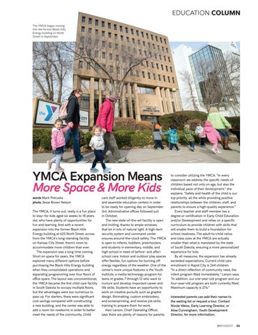 Page 47 of YMCA Expansion Means More Space & More Kids